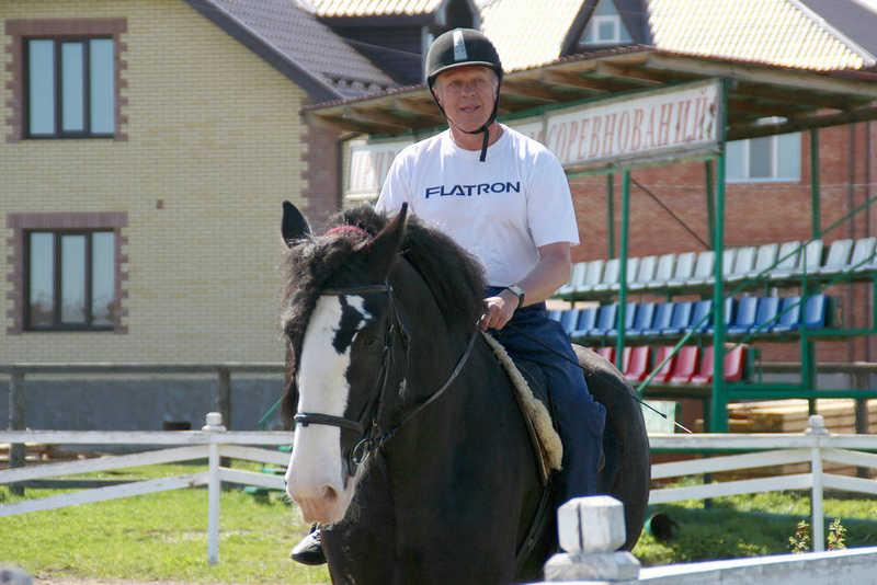 Выезд на конно-спортивную базу 13