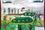«Выставка творческих работ учащихся БОУ ДО ЦРТ «Дом пионеров» «Служу России!», посвящённая Дню защитника Отечества»