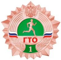 Бронзовый значок ГТО