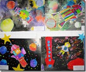 Выставка к Дню Космонавтики