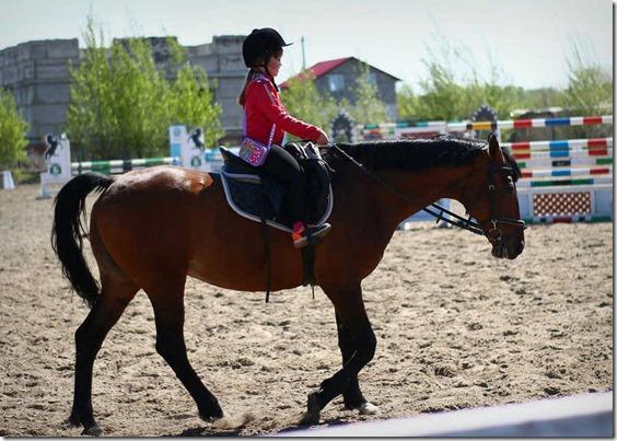 Выезд на конно-спортивную базу