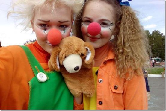 Школа клоунов от Карусельки