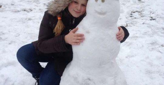 Флешмоб Липкий снег 2