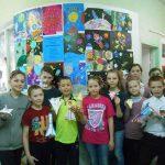 Выставка работ к Дню космонавтики
