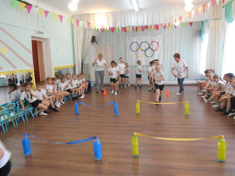 Шаги к здоровью. портивный праздник «Мы – будущие олимпийцы»