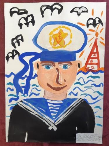 Выставка творческих работ «Служу России!» 06 2020