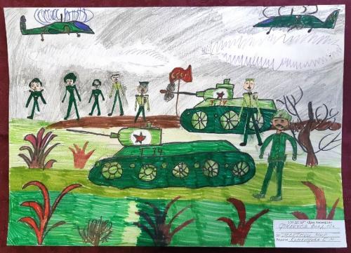 Выставка творческих работ «Служу России!» 09 2020