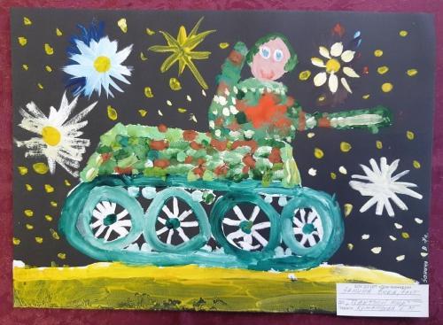 Выставка творческих работ «Служу России!» 12 2020