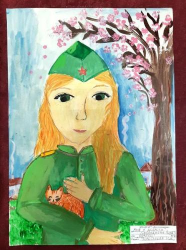 Выставка творческих работ «Служу России!» 15 2020