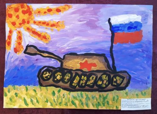 Выставка творческих работ «Служу России!» 16 2020