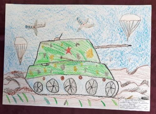Выставка творческих работ «Служу России!» 18 2020
