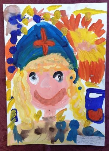 Выставка творческих работ «Служу России!» 22 2020