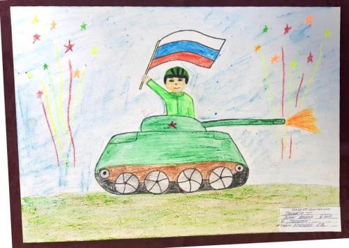 Выставка творческих работ «Служу России!» 23 2020