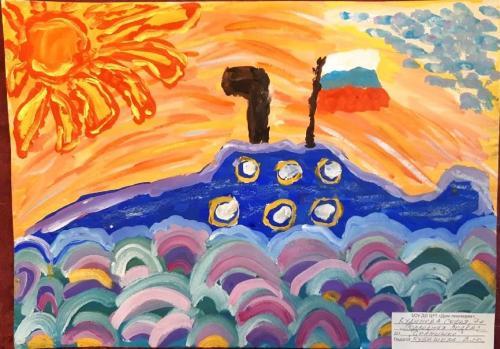 Выставка творческих работ «Служу России!» 30 2020
