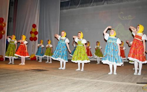 Отчетный концерт отдела художественного воспитания